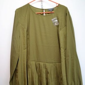 The Limited Collection XL Long Sleeve Green Blouse